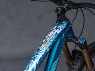 DYEDbro Frame Protector Fluor White at Draco Bikes