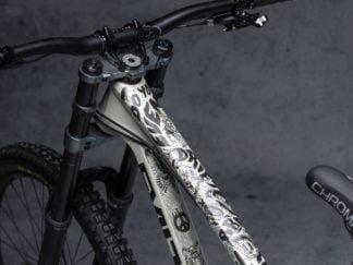 DYEDbro Frame Protector Fluor Black at Draco Bikes