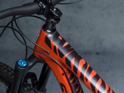 DYEDbro Frame Protector Zebra Black at Draco Bikes