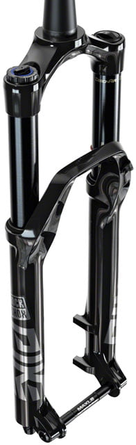 "RockShox Pike Ultimate Suspension Fork - 29"", 140 mm, 15 x 110 mm, 51 mm Offset, Gloss Black, B3 - Draco Bikes"