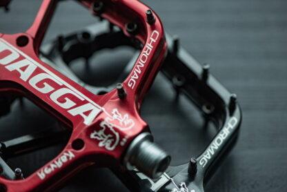 Chromag Dagga Pedals - Platform Aluminum 9-16 - Black - Draco Bikes