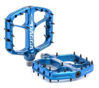 Chromag Dagga Pedals - Platform Aluminum 9-16 - Blue - Draco Bikes
