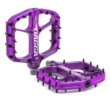Chromag Dagga Pedals - Platform Aluminum 9-16 - Purple - Draco Bikes
