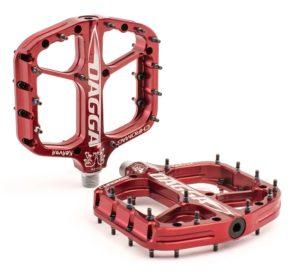 Chromag Dagga Pedals - Platform Aluminum 9-16 - Red - Draco Bikes
