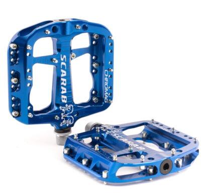 Chromag Scarab Pedals - Platform Aluminum - Blue - Draco Bikes