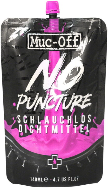Muc-Off No Puncture Tire Sealant 140ml Pouch by Draco Bikes