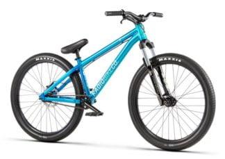 "Radio Griffin 26"" Dirt Jump Bike - 22.8"" TT, Metallic Blue - Draco Bikes"