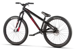 Radio Griffin Pro 26 Dirt Jump Bike - 22-8 - TT - Glossy Black - Draco Bikes
