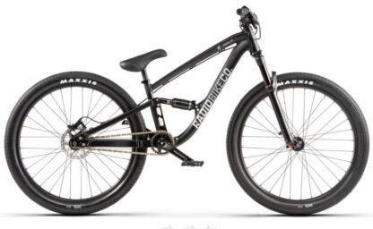 Radio Siren 26 Dirt Jump Bike - 22-8 TT - Matte Black - Draco Bikes