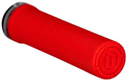 Deity Components Waypoint Grips - Red, Lock-On - Draco Bikes 2