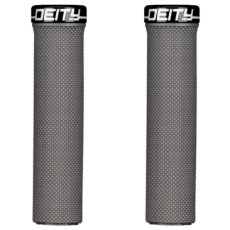 Deity Components Waypoint Grips - Stealth, Lock-On - Draco Bikes