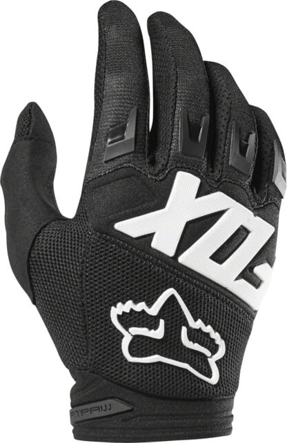 Fox Racing Dirtpaw Race Gloves - Black, Full Finger, Men's - Draco Bikes