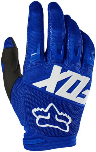 Fox Racing Dirtpaw Race Gloves - Blue, Full Finger, Men's - Draco Bikes