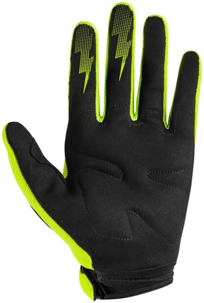 Fox Racing Dirtpaw Race Gloves - Fluorescent Yellow, Full Finge - Draco Bikes - 1