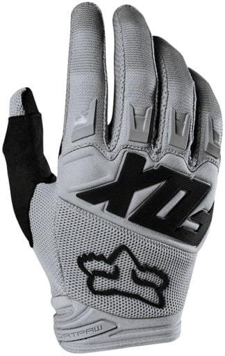 Fox Racing Dirtpaw Race Gloves - Gray, Full Finger Men's - Draco Bikes
