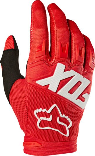 Fox Racing Dirtpaw Race Gloves - Red, Full Finger, Men's - Draco Bikes