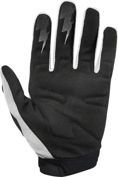 Fox Racing Dirtpaw Race Gloves - White, Full Finger, Men's 1
