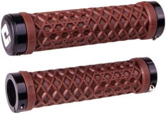 ODI VANS Lock-On Grips - Chocolate Brown, Lock-On - Draco Bikes