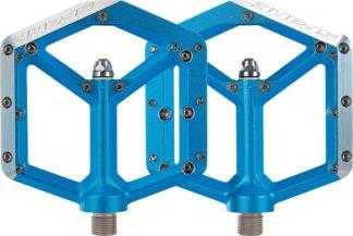Spank Spike Pedals - Platform, Aluminum 9-16 Blue - Draco Bikes
