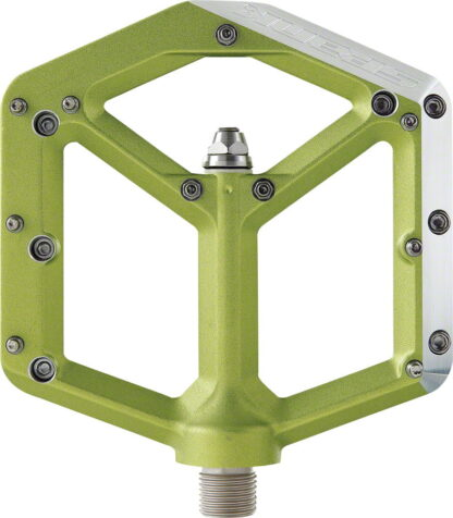Spank Spike Pedals - Platform Aluminum, 9-16 - Green - Draco Bikes 3