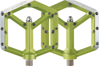 Spank Spike Pedals - Platform Aluminum, 9-16 - Green - Draco Bikes