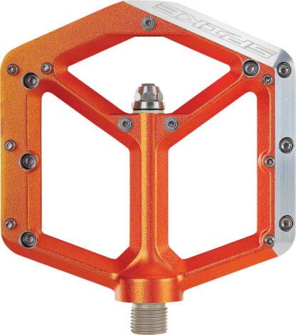 Spank Spike Pedals - Platform Aluminum, 9-16 - Orange - Draco Bikes 3