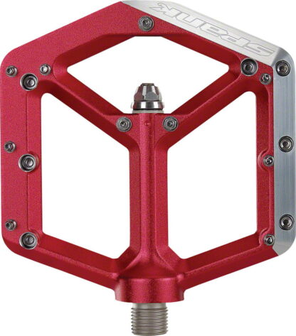 Spank Spike Pedals - Platform, Aluminum 9-16 Red - Draco Bikes - 3