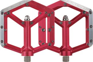Spank Spike Pedals - Platform, Aluminum 9-16 Red - Draco Bikes