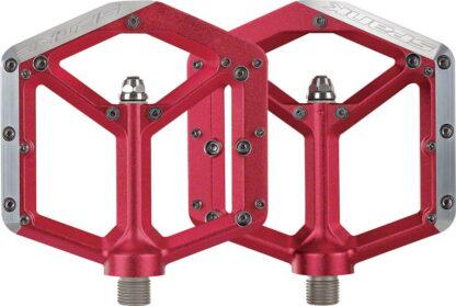 Spank Spike Pedals - Platform, Aluminum 9-16 Red - Draco Bikes