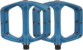 Spank Spoon DC Pedals - Platform Aluminum 9-16 - Blue - Draco Bikes