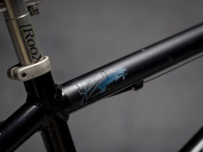 DYEDbro Frame Protection Flames at Draco Bikes