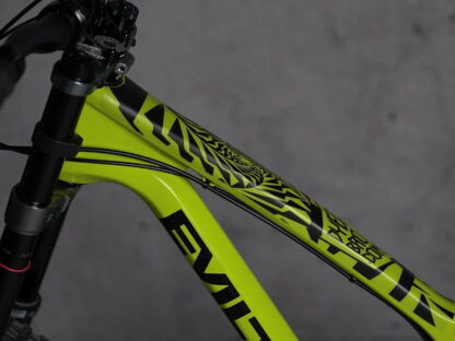DYEDbro Frame Protection Psycho Black at Draco Bikes 1