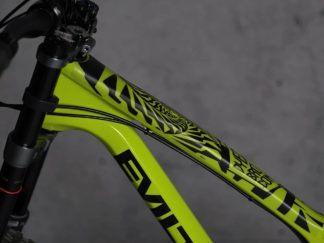 DYEDbro Frame Protection Psycho Black at Draco Bikes