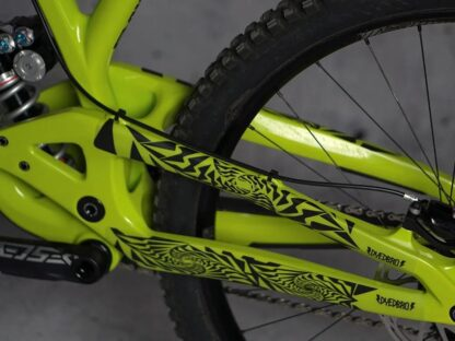 DYEDbro Frame Protection Psycho Black at Draco Bikes 2