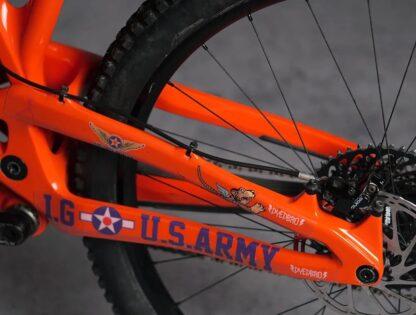 DYEDbro Frame Protection - Warhawk at Draco Bikes