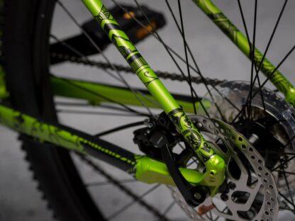 DYEDbro Frame Protector Mandala Black at Draco Bikes