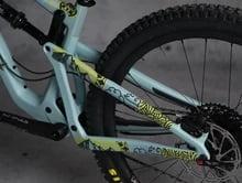 DYEDbro Frame Protector Mandala Black Color at Draco Bikes