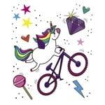DYEDbro Frame Protector Unicorn Glitter at Draco Bikes