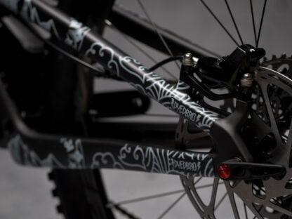DYEDbro Frame Protectors at Draco Bikes Mandala White 3