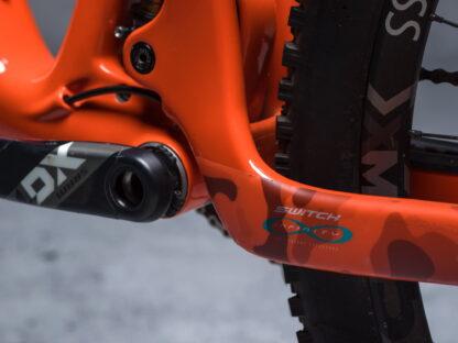 DYEDbro Frame Protector at Draco Bikes 4