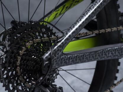 DYEDbro Frame Protector at Draco Bikes - Bandana 1