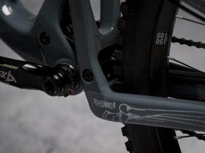 DYEDbro Frame Protector at Draco Bikes - Bones 3