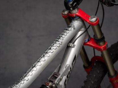 DYEDbro Frame Protector at Draco Bikes - Bones