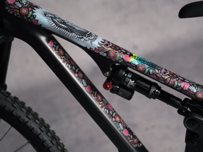 DYEDbro Frame Protector at Draco Bikes - Guadalupe color 1