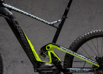 DYEDbro Frame Protection at Draco Bikes - Animal Print