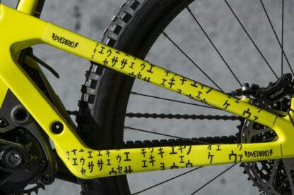 DYEDbro Frame Protection at Draco Bikes - Matrix Black