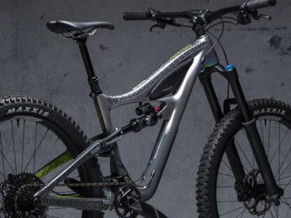 DYEDbro Frame Protection at Draco Bikes - Paisley 1