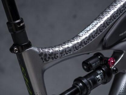 DYEDbro Frame Protection at Draco Bikes - Paisley 3