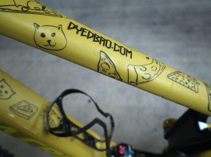 DYEDbro Frame Protector at Draco Bikes - Cats 1