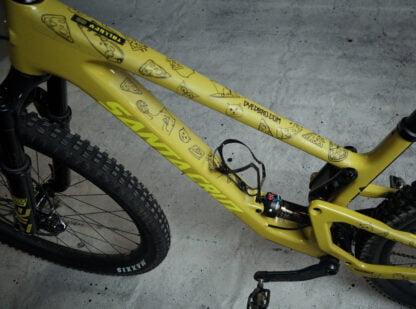 DYEDbro Frame Protector at Draco Bikes - Cats 2